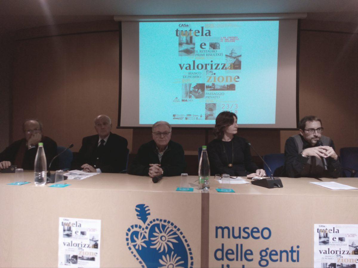 restauro san panfilo spoltore relatori 23 marzo