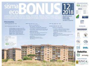 sisma eco bonus locandina programma convegno bonus unico 12 settembre pescara